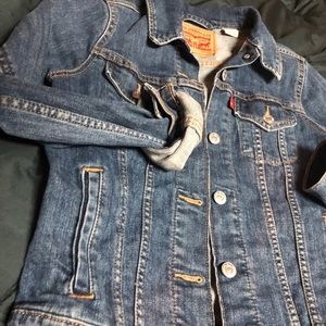 Levi Demi jacket medium wash